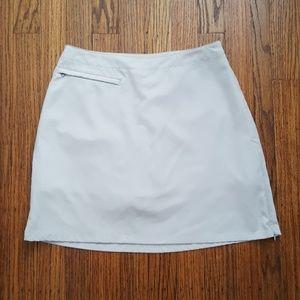 Patagonia Duway Skort Skirt Shorts Soft Gray 8